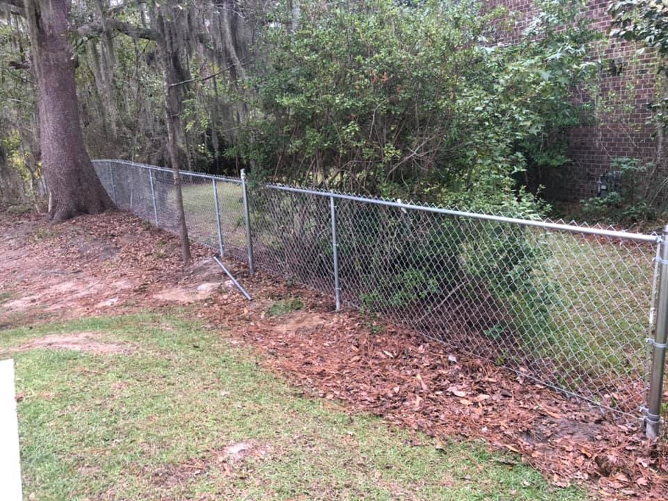 New Chain Link Fence By Sonoma Fence Company